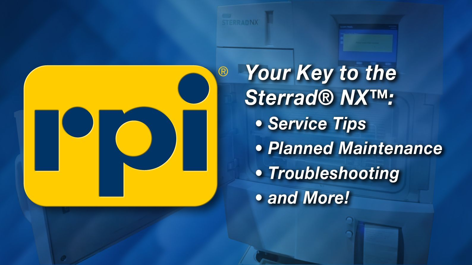 Your Key to the  Sterrad NX