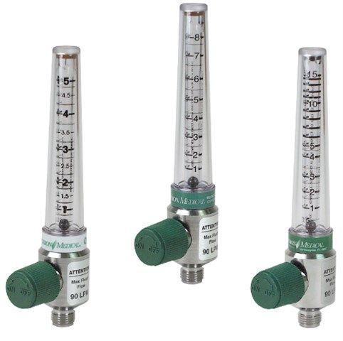 Precision Medical - Chrome Flowmeter