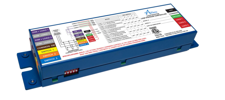 Amico - Low Voltage Controller with Dimming