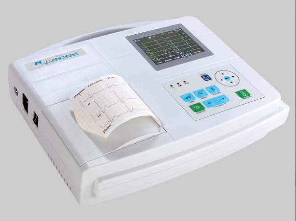 BPL Medical Technologies  - Cardiart 6208 View 3-channel ECG